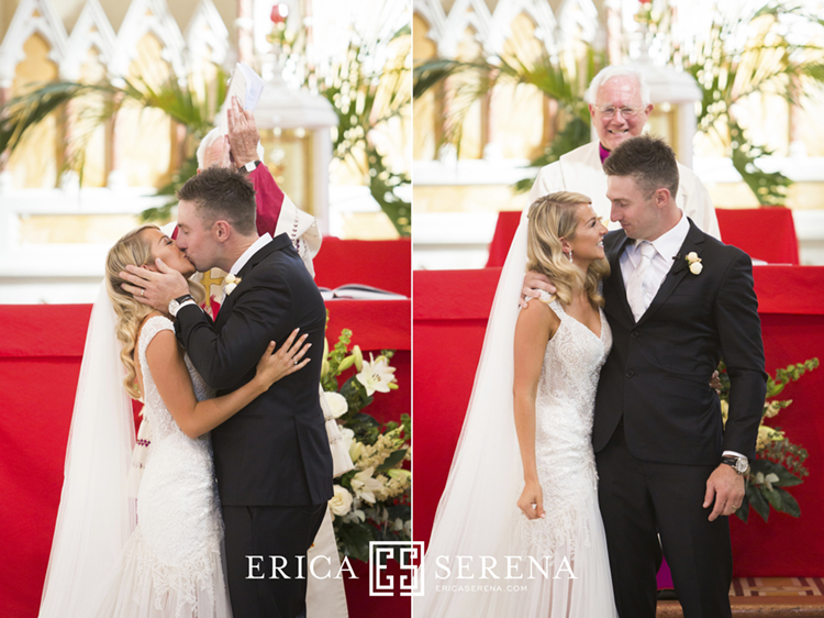 Shaun Marsh and Rebecca O'Donovan wedding, St Joseph's subiaco wedding