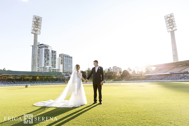 Shaun Marsh and Rebecca O'Donovan married
