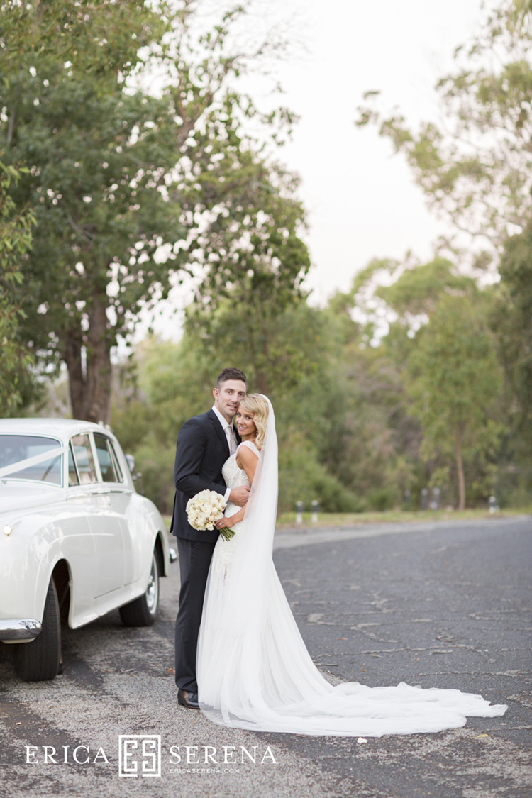 Shaun Marsh and Rebecca O'Donovan married,  belle classics limousines