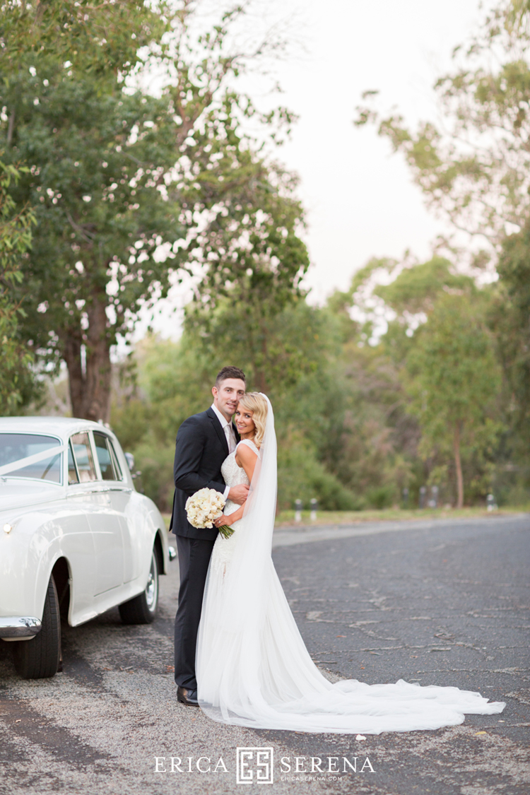 shaun marsh rebecca o'donovan, kings park wedding photos, belle classics limos perth