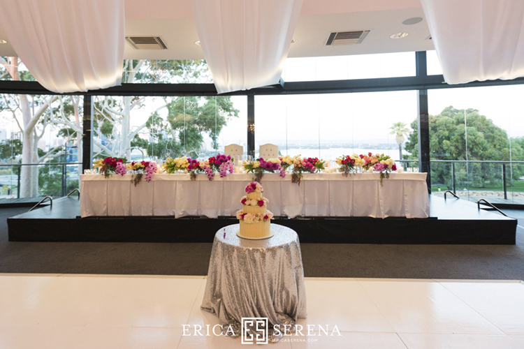 wedding at frasers restaurant, wedding at state reception centre kings park, poppy's flowers, the cake and i