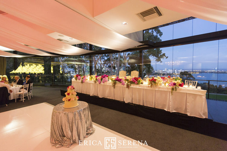 wedding at frasers restaurant, wedding at state reception centre kings park, poppy's flowers