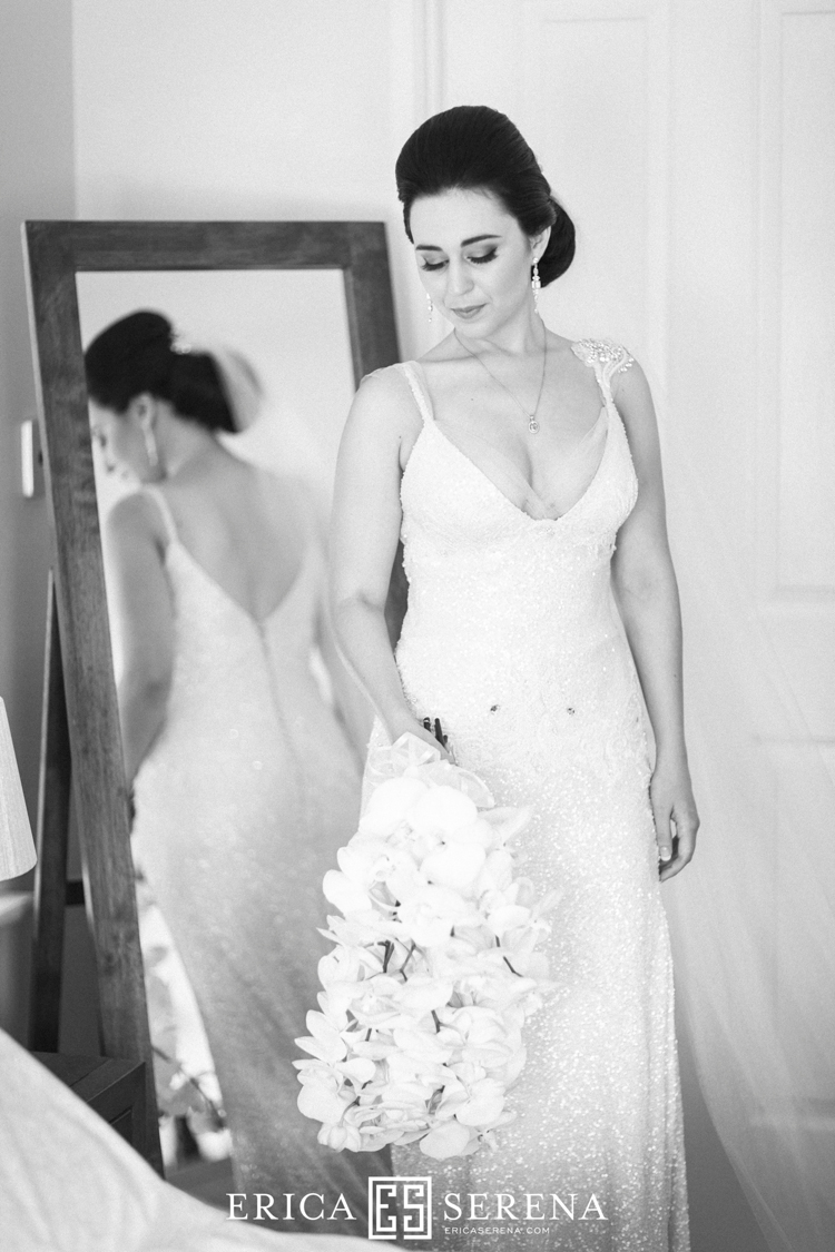 perth bridal portraits, pallas couture wedding dress, phalaenopsis bridal bouquet