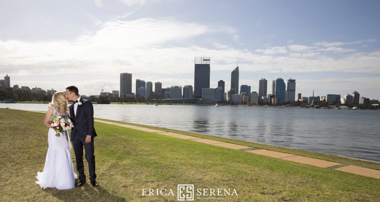 south perth foreshore wedding photos