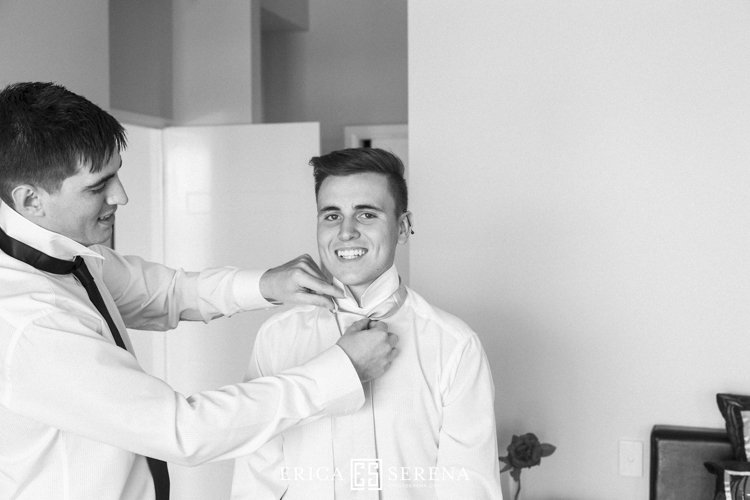 groom's preparation wedding photos perth