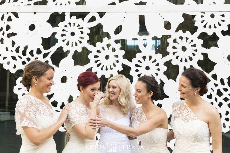 bridesmaids at brookfield place perth