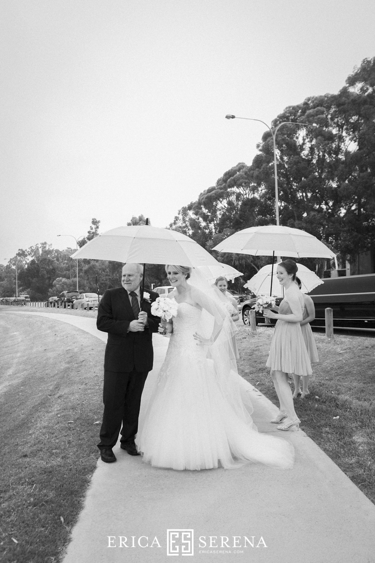 wedding at matilda bay foreshore