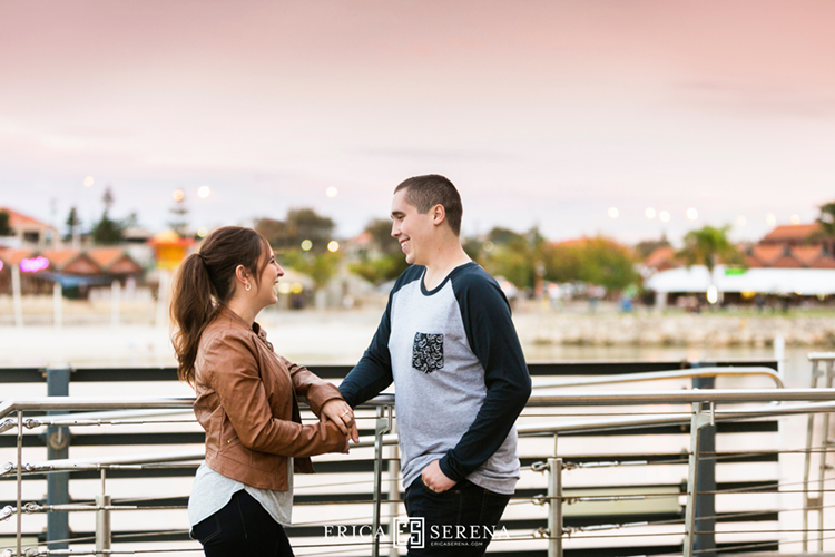 engagement photos perth, photos at hillarys boat harbour