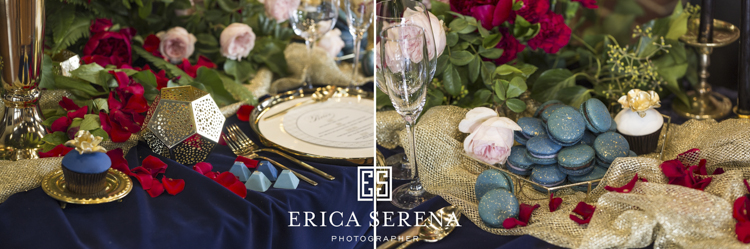 bluewater grill wedding, mardie & co, lala designs