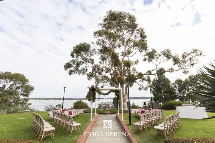 bluewater grill wedding, villa kula, mardie & co, matthew landers