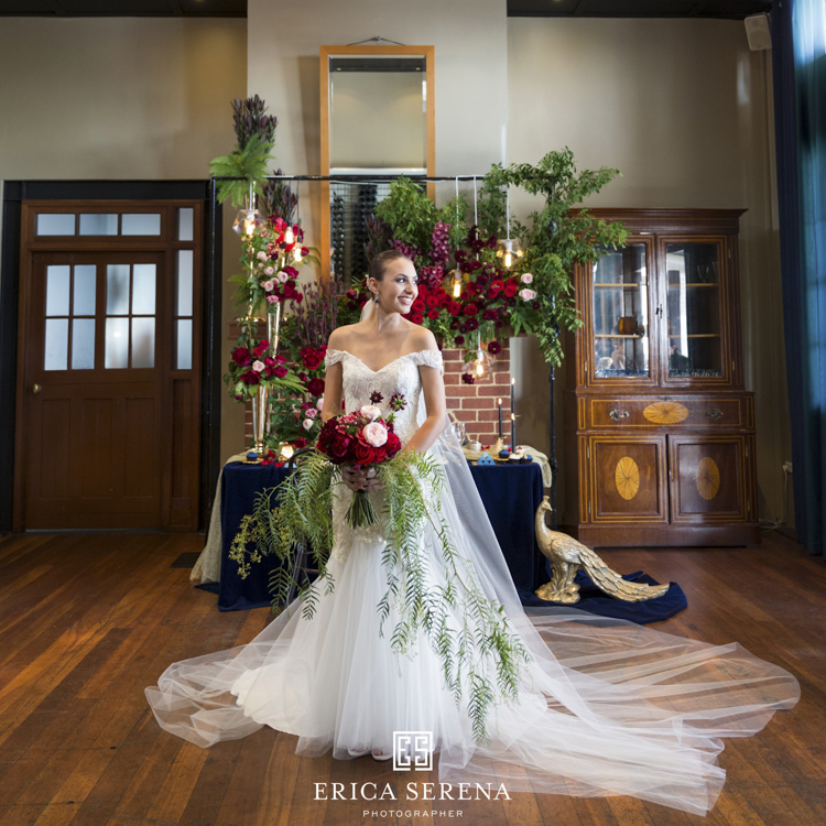 bluewater grill wedding, mardie & co, matthew landers, bride, loui col designs