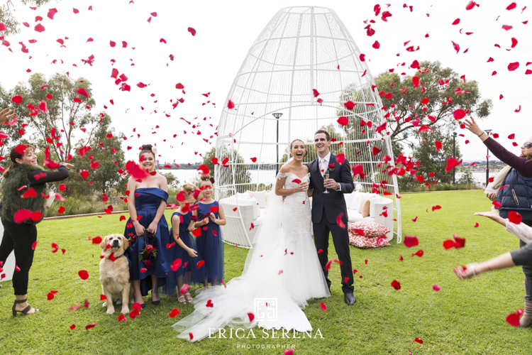 bluewater grill wedding, mardie & co, matthew landers, loui col designs, villa kula perth