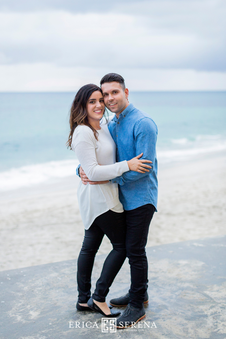 cottesloe beach engagement shoot perth