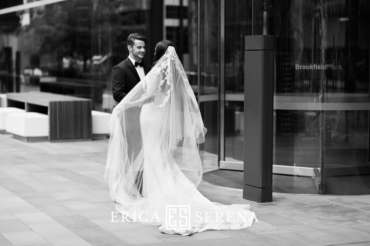 Perth Wedding Photographer, Wedding Photography Perth, wedding at Sacred Heart Highgate, wedding at Crown Perth, Brookfield Place, veil, steven khalil