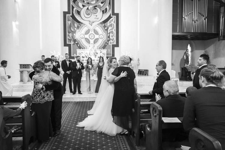 galleria couture, perth church wedding, st patrick's basilica fremantle