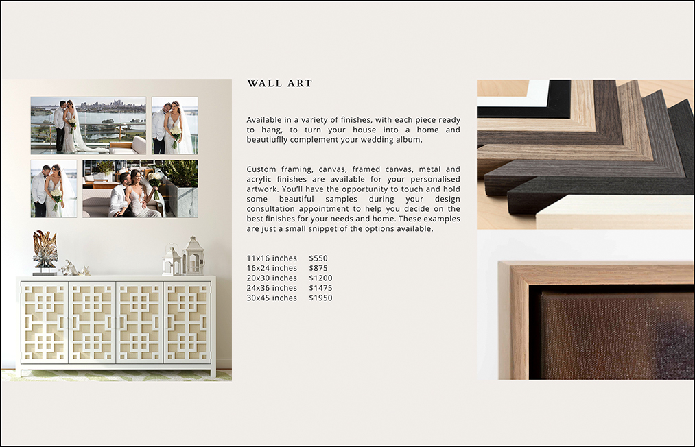 07 - WALL ART PRICING PAGE