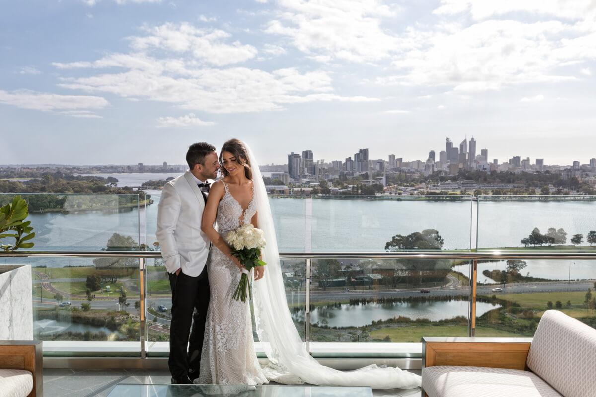 wedding at crown towers perth